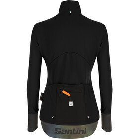 Santini Vega Xtreme Cut Winter Jacket Women, black